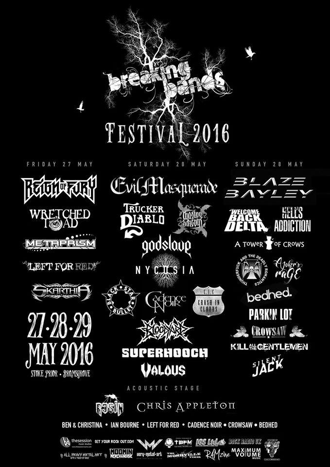 Breaking Bands Festival Poster