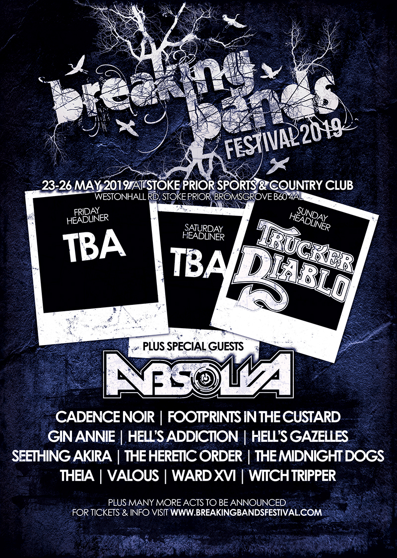 12 BANDS ANNOUNCED FOR BREAKING BANDS FESTIVAL 5!