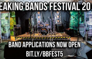 BREAKING BANDS FESTIVAL OPENS BAND APPLICATIONS FOR 5TH YEAR EVENT!