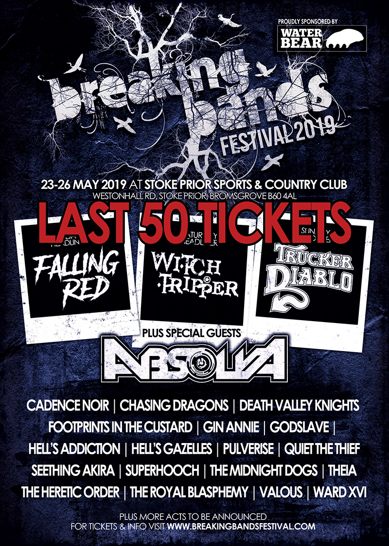 WATERBEAR EDUCATION COLLEGE PARTNERSHIP WITH BREAKING BANDS FESTIVAL