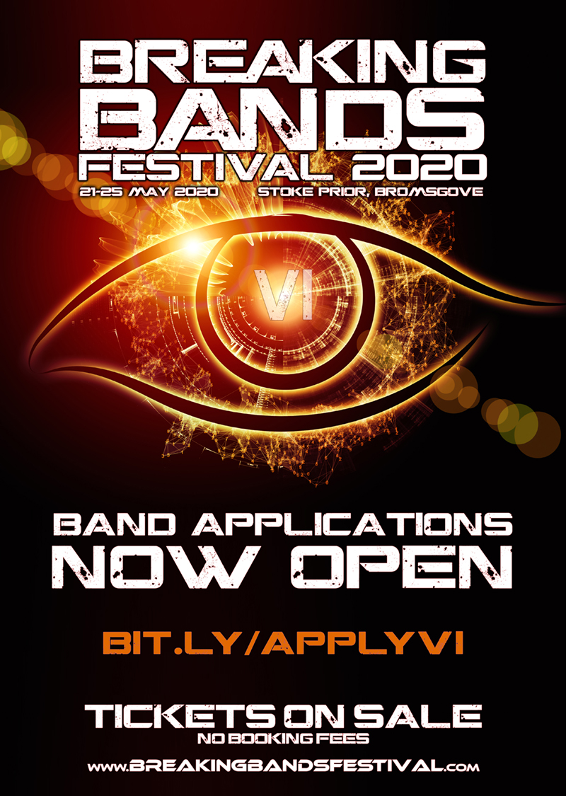 BREAKING BANDS FESTIVAL APPLICATIONS OPEN FOR 2020