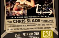 AC/DC's Chris Slade Announced as Special Guest for 2018 Festival!