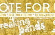 BREAKING BANDS FESTIVAL NOMINATED FOR 4 AWARDS: UK FESTIVAL AWARDS 2016