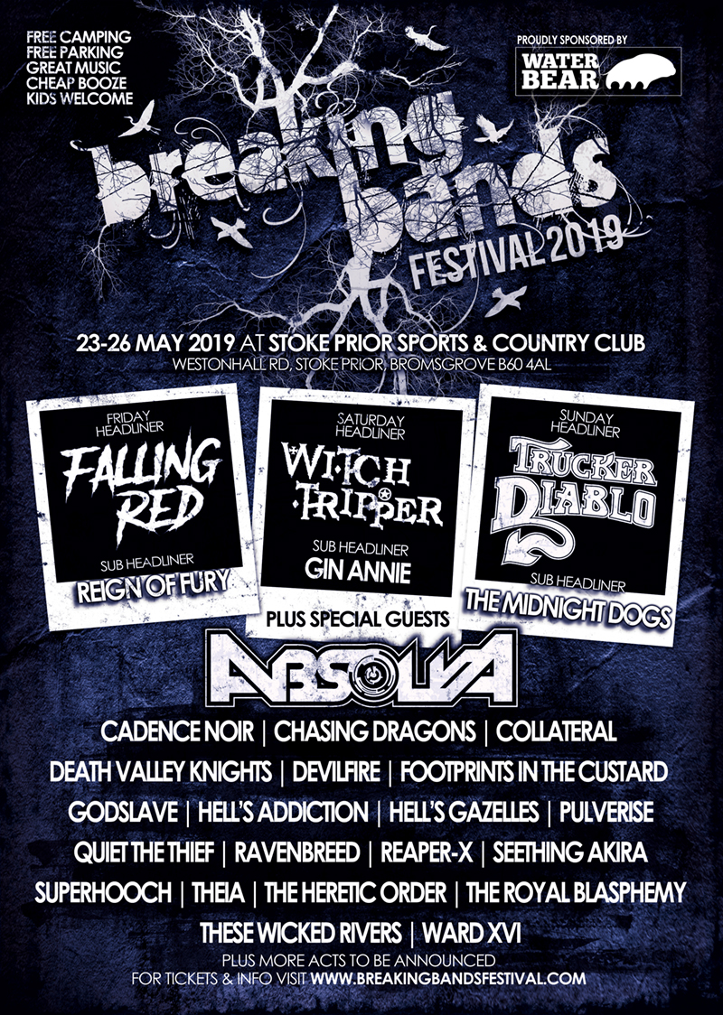 MORE BANDS ANNOUNCED FOR BREAKING BANDS FESTIVAL 5