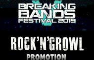 BREAKING BANDS FESTIVAL Announce Partnership With PR Company ROCK'N'GROWL PROMOTION